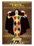 Iris, Zampoli & Brogi Giclee Print by Leonetto Cappiello