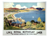 Royal Rothesay the Clyde Coast Giclee Print