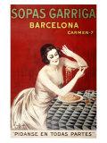 Sopas Garriga, Barcelona Giclee Print by Leonetto Cappiello