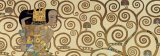 Expectation, Stoclet Frieze, c.1909 (detail) Prints by Gustav Klimt