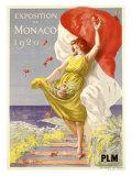 Exposition de Monaco, 1920 Giclee Print by Leonetto Cappiello
