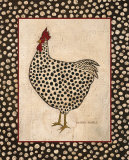Spotted Chicken Art by Warren Kimble