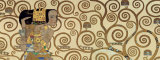 Expectation, Stoclet Frieze, c.1909 (detail) Print by Gustav Klimt