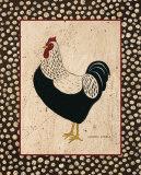 Whiteback Chicken Poster von Warren Kimble