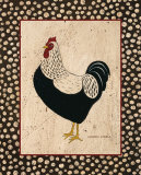 Whiteback Chicken Posters by Warren Kimble