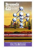 Brussels, British Rail Giclee Print