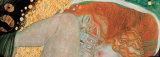 Gustav Klimt - Danae (detail) - Reprodüksiyon