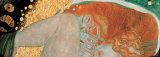 Danae (detail) Prints by Gustav Klimt