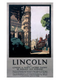 Lincoln on the LNER Giclee Print