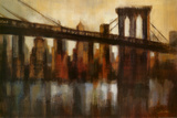 New York Bridge Poster by Silvia Vassileva