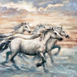 Running Horses II Prints by Ralph Steele