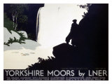 Yorkshire Moors, LNER Giclee Print by Tom Purvis