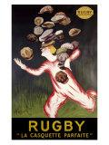 Rugby, La Casquette Parfaite Giclee Print by Leonetto Cappiello