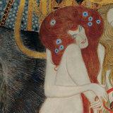 Beethoven Frieze (detail) Prints by Gustav Klimt