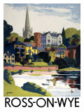 Ross-on-Wye, British Rail, c.1950 Giclee Print by E Lander