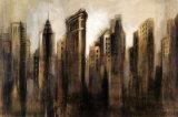 Flatiron Skyline Poster by Silvia Vassileva