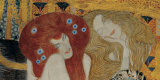 Beethoven Frieze (detail) Poster by Gustav Klimt