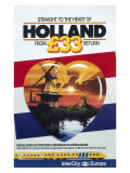 Straight to the Heart of Holland, British Rail Giclee Print