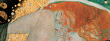 Danae (detail) Posters by Gustav Klimt