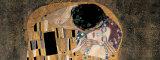 Kyssen, detalj Posters av Gustav Klimt