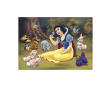 Snow White's Forest Friends Poster
