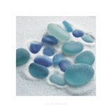 Spanish Sea Glass Affiches par Celia Pearson