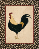 Goldfeather Chicken Prints by Warren Kimble