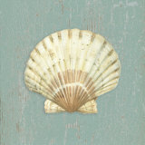Scallop Shell Prints by Lisa Danielle