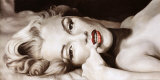Reclined Marilyn Prints by Frank Ritter