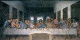 Leonardo da Vinci - Son Akşam Yemeği - Poster