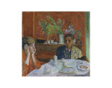 The Dessert, or After Dinner, c.1920 Poster von Pierre Bonnard