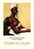 Portrait Of Negress Poster by Marie Guilhelmine Benoist
