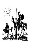 Don Quichote Póster por Pablo Picasso