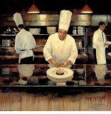 Brasserie Cuisine Prints by Myles Sullivan
