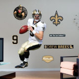 Drew Brees- Fathead Wall Decal