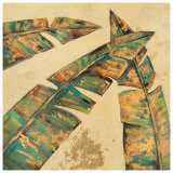 Leaf Motif I Prints by Hope Smith
