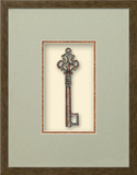 Castle Tower Key (Keys of the Renaissance Collection) Dimensional Product