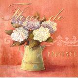 Fleurs de Provence Print by Angela Staehling