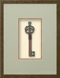 Secret Garden Gate Key (Keys of the Renaissance Collection) Dimensional Product