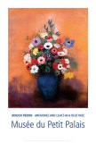 Blue Vase Prints by Odilon Redon
