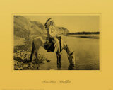 Bow River, Blackfoot Masterprint by Edward S. Curtis