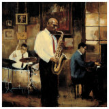 Latin Quarter Jazz Prints by Myles Sullivan