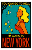 Going To New York Masterprint