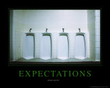 Expectations Plakater av Kelly Redinger