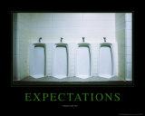 Expectations Poster von Kelly Redinger