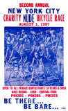 Charity Nude Bicycle Race Masterprint