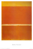 Saffron, 1957 Prints by Mark Rothko