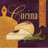 Cucina Roma Posters by Angela Staehling