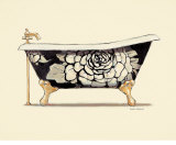 Floral Bath Prints by Marco Fabiano