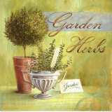 Garden Herbs Posters par Angela Staehling